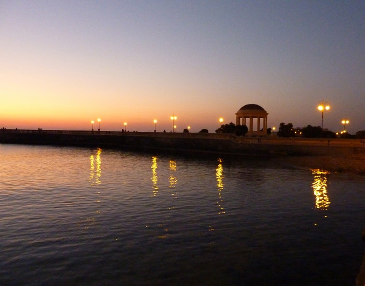 Romantic Holidays in Tuscany: Terrazza Mascagni Sunset in Livorno