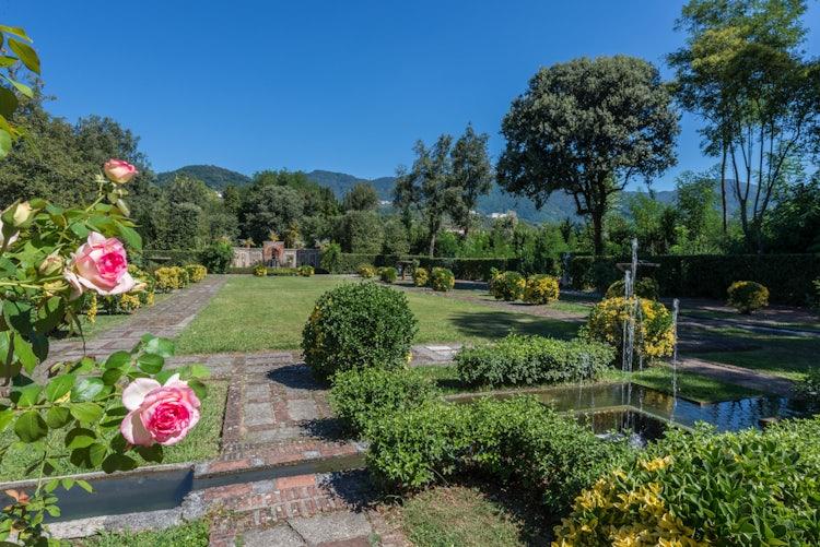 Veduta del Giardino Spagnolo