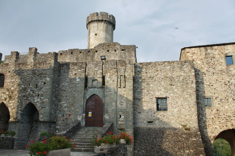Tour Castello Malgrate near Villafranca in the Lunigiana area  a