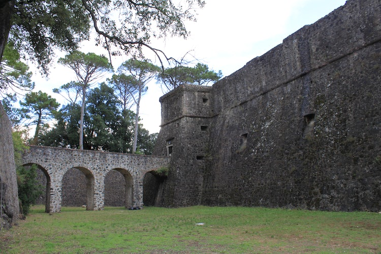 Fortezza Brunella in Aulla in the Lunigiana area