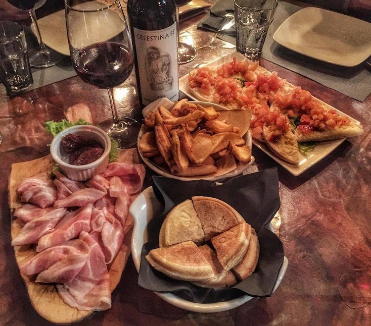 Food selection in Lunigiana
