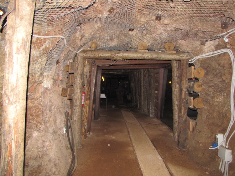 The mines of Gavorrano in the Maremma, Tuscany