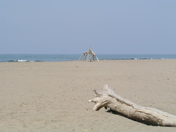 Sandy beaches in the Maremma