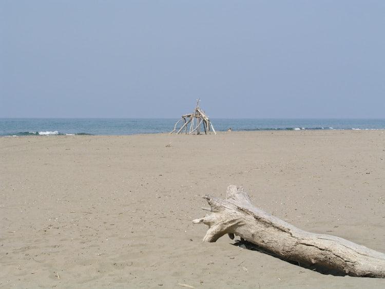 Sandy beaches in the Maremma