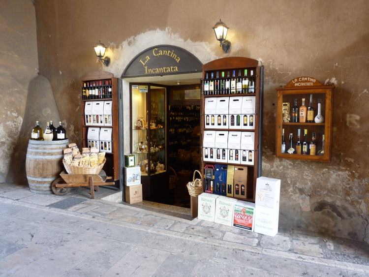 Wine from Pitigliano in the Maremma Tuscany