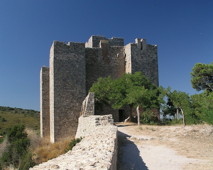 Fortress at Talamone in the Maremma, Tuscany