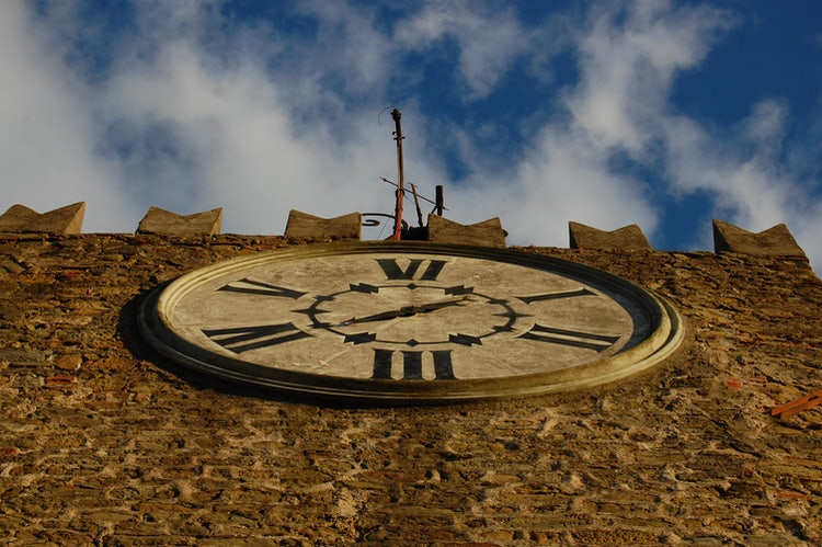 Tower Clock at Montecatini
