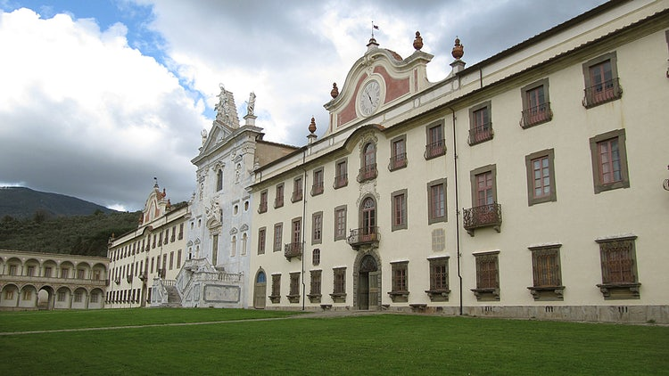 Certosa di Calci in the province of Pisa, Tuscany