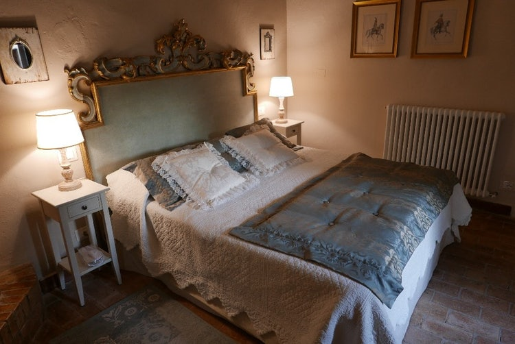 Dreamy and elegant decor in an adult only accommodation: Agriturismo La Pieve