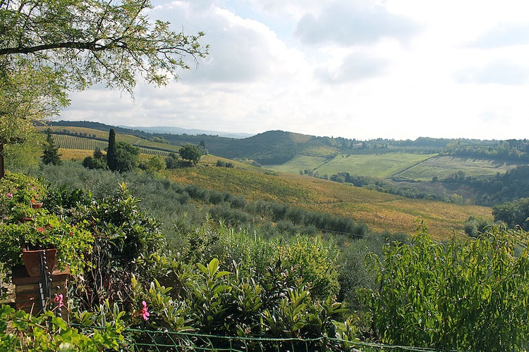 Panoramic view  at Agriturismo Vernainello