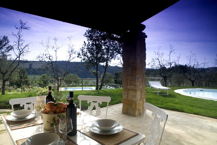 Borgo della Meliana:  Gardens & panoramic views
