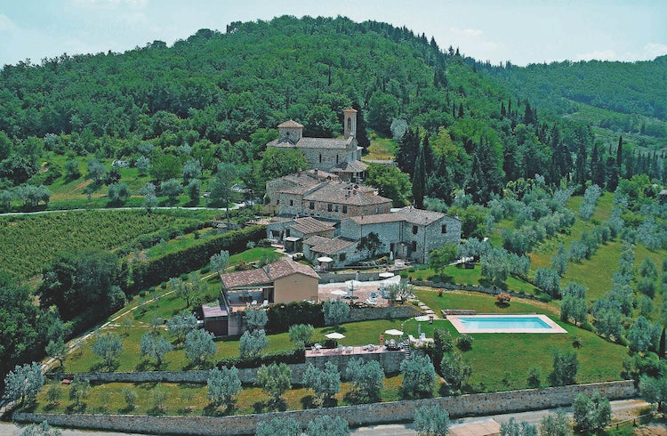 Ariel view of Borgo Sicelle