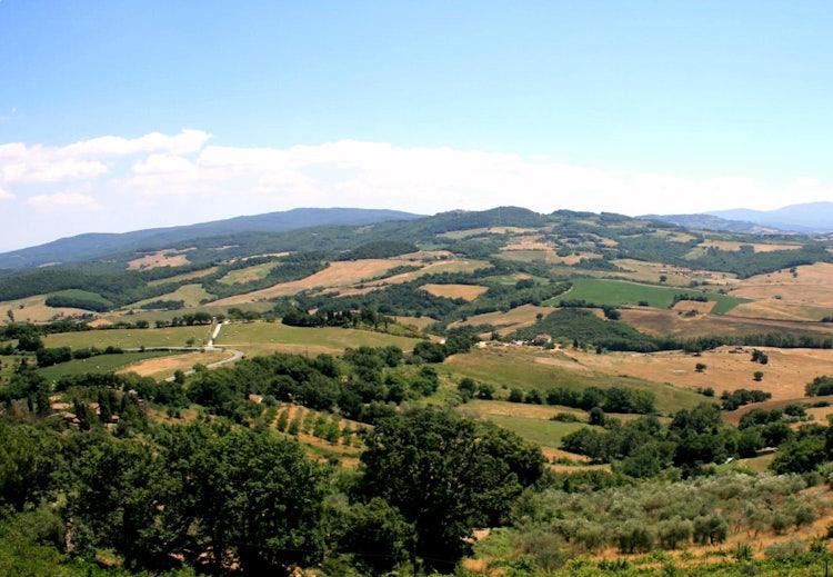 Casa Podere Monti: Summer landscape