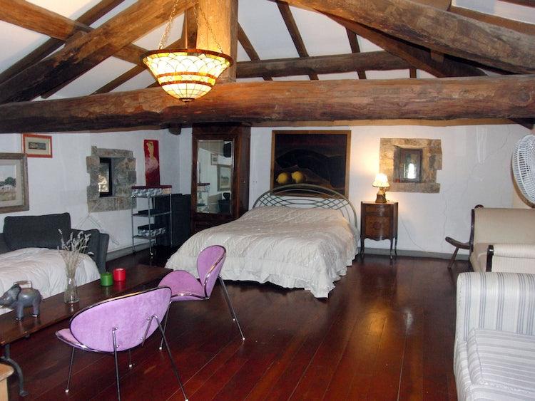 Family size bedrooms at Fattoria dell'Orto degli Ulivi
