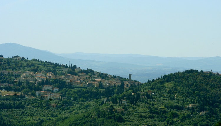 B&B La Paggeria: Just outside of Florence