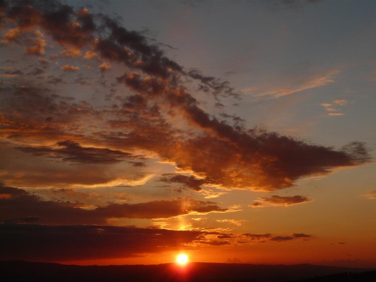 Podere Patrignone and sunsets in Castellina in Chianti :: Discover Tuscany