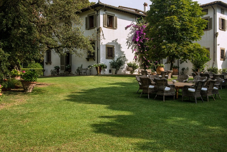 View of B&B Villa Dianella near Florence, Italy
