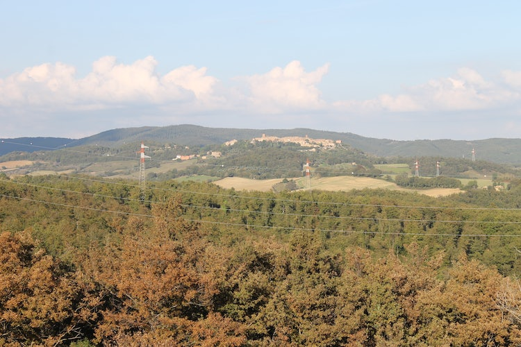 Panoramic view of the area near Radicondoli
