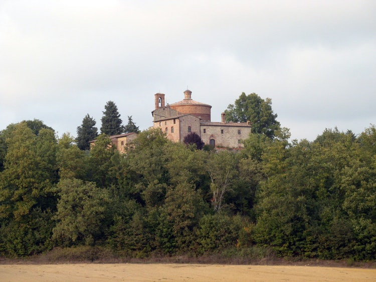 Monte Siepi as seen from San Galgano