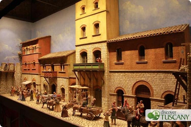 Medieval life scenes