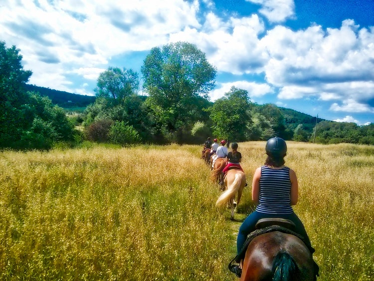 Spring Tours from Florence: Horseback in Chianti
