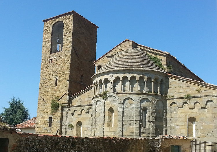 Gropina Church just outside of Loro Ciuffenna