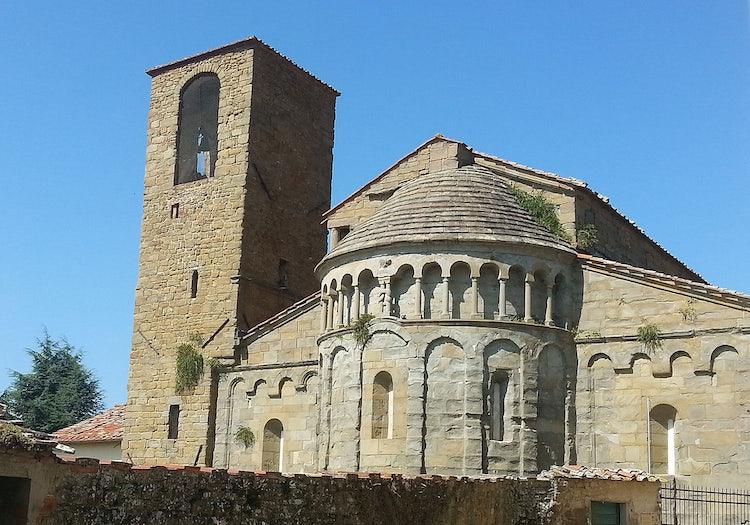 Gropina Church just outside of Loro Ciuffenna