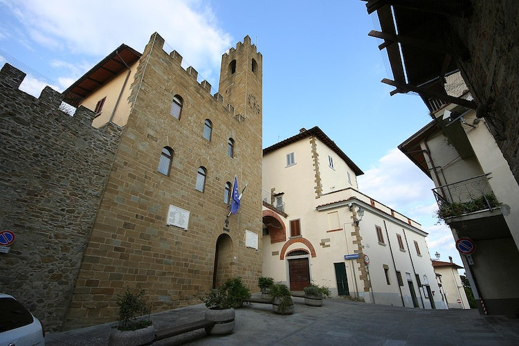 Castiglion Fibocchi: the original architecture still stands