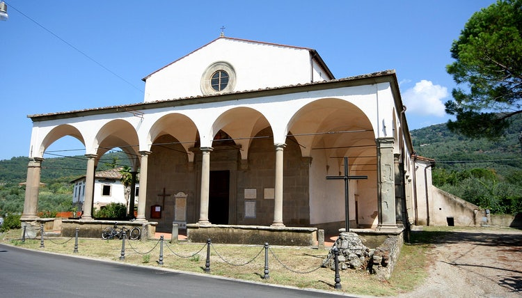 Church near Montemarciano