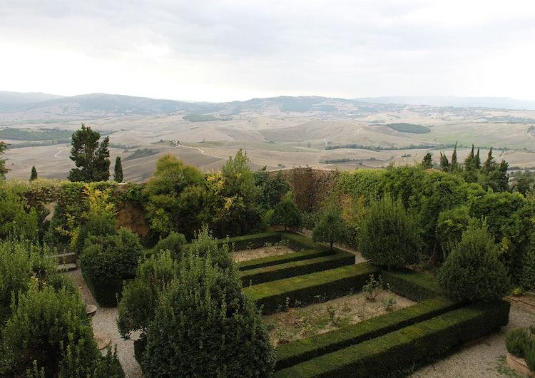 Vacanze Romantiche in Toscana: i giardini di Pienza