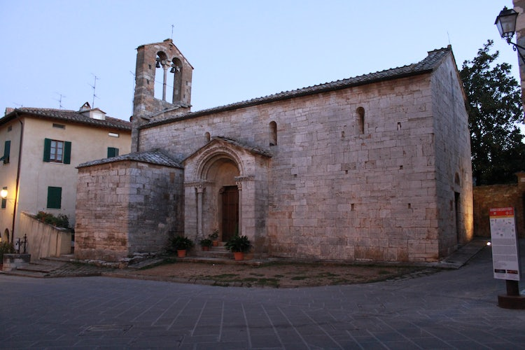 Church of Santa Maria Assunta San Quirico