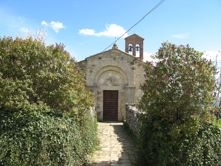 The Abbey Sant'Antimo