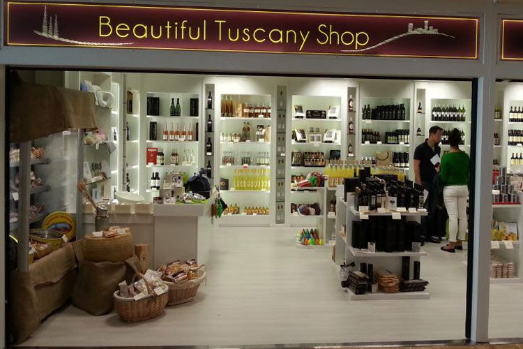 Duty Free shipping at Tuscan airports