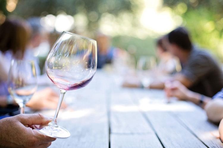 Wine tastings on your bike tour